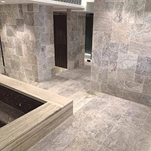 Kamenná dlažba - interiér